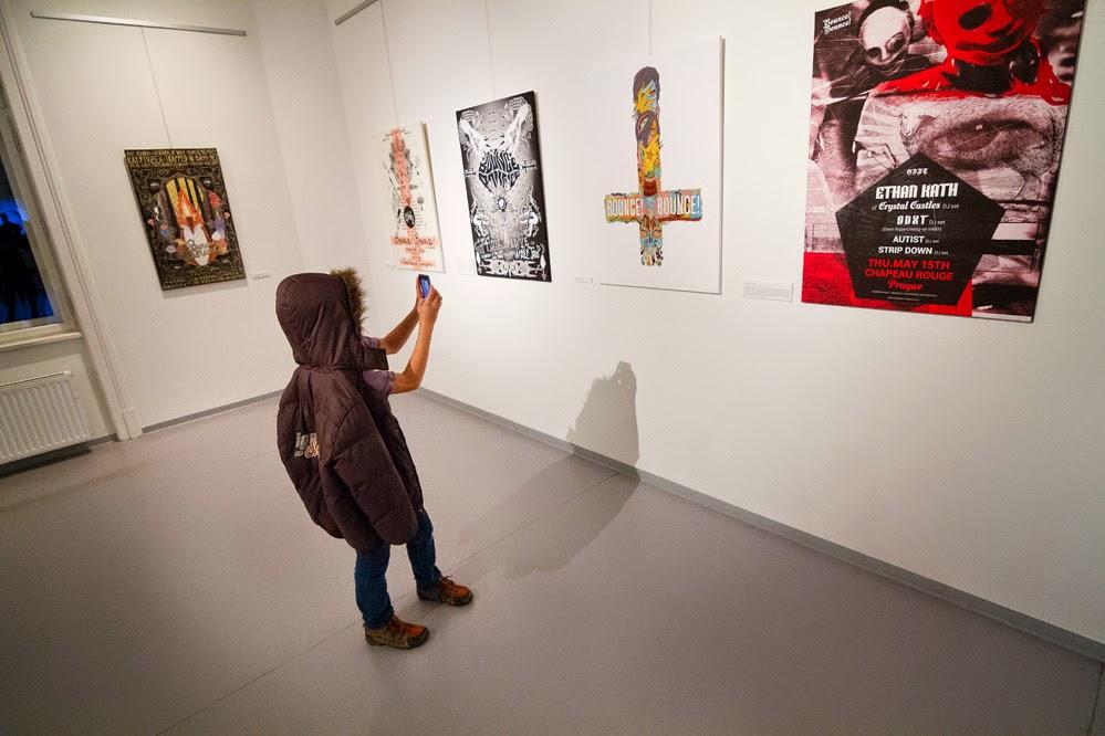 Mene Mene Tekel Upharsin Kay Buriánek vernisáž výstavy/ Galerie Obecního domu