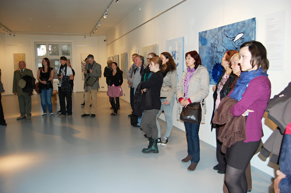 PRAKTICKÁ SOCIOLOGIE – David Saudek vernisáž výstavy / Galerie