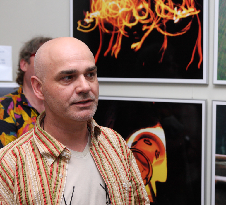 JAN KOSTERA – DEKORATIVNÍ FOTOGRAFIE / vernisáž / 7. 7. 2010 // foyer kavárny
