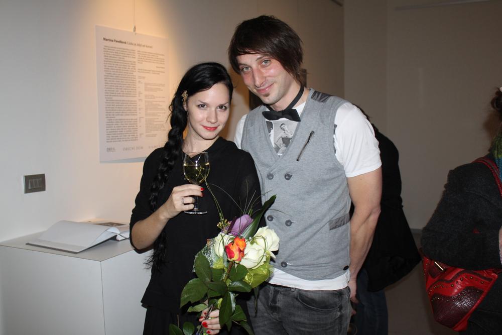 LÁSKA JE, KDYŽ SEŠ KURVA! – Martina Pavelková vernisáž výstavy / Galerie