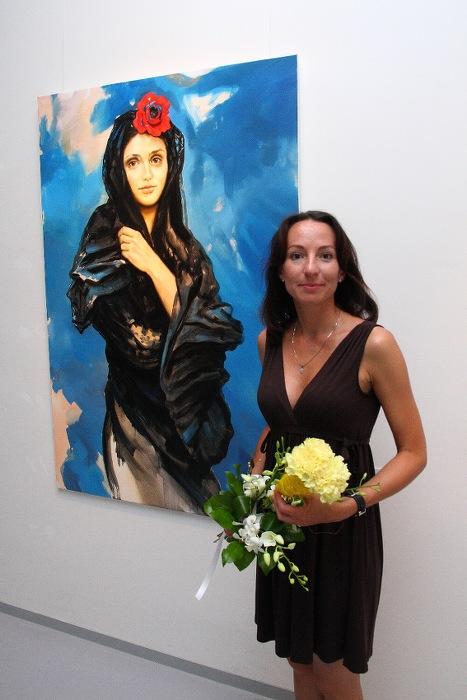 MARKÉTA URBANOVÁ – NUDITA / vernisáž výstavy / 21. 7. 2010 // Galerie OD