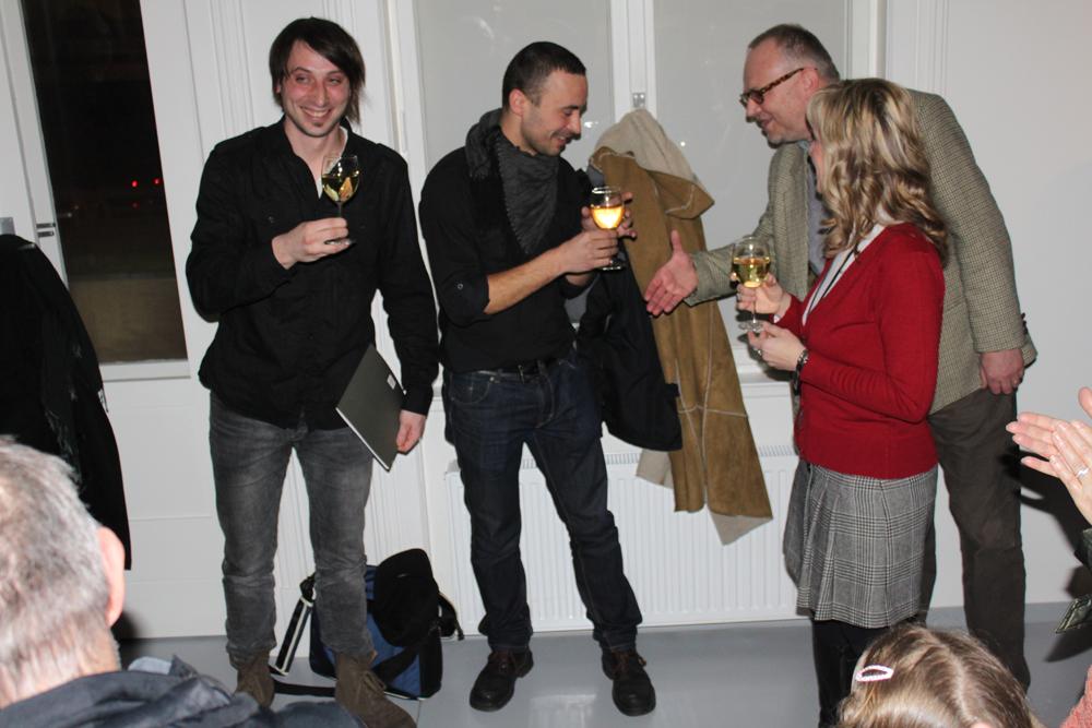 STOLETÍ ČEŠI – Jan Langer vernisáž výstavy / Galerie