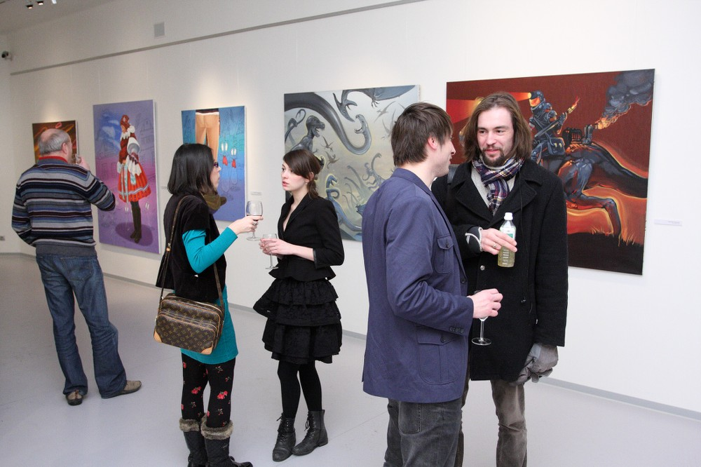 NATVRDLÍ / vernisáž / 5. 1. 2011 / Galerie OD