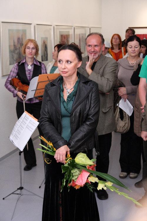 KATARÍNA VÁVROVÁ – KDYŽ LÁSKA NEJSOU JENOM SLOVA / vernisáž / 1. 9. 2010 // Galerie OD