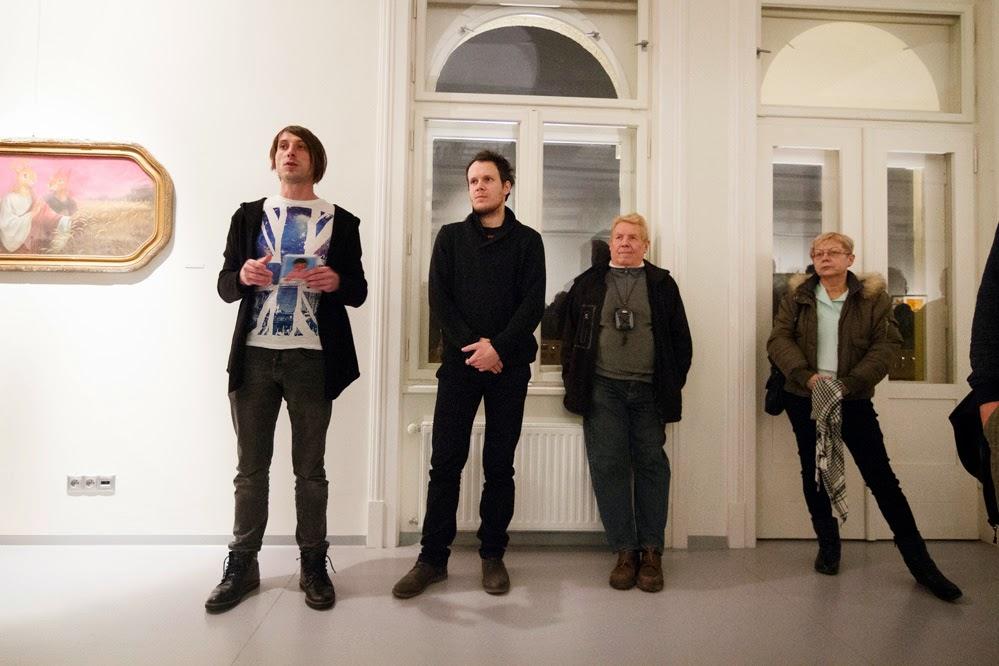 vernisáž výstavy Václav Minařík- Galerie Obecního domu