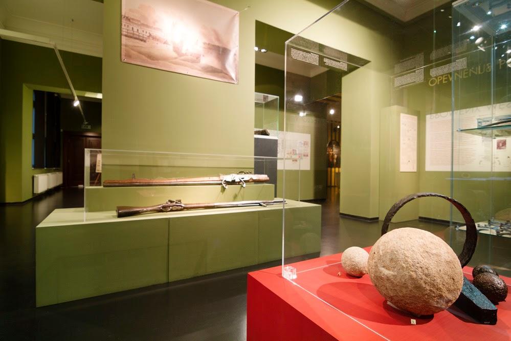 Opavské Hradby výstava- expozice Obecní dům