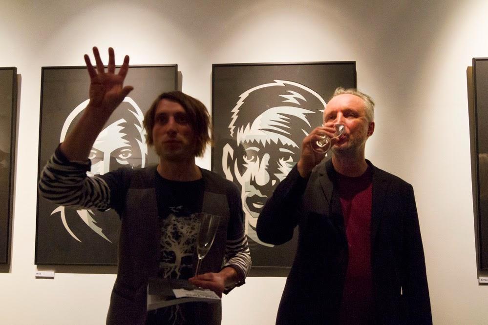 KILL-TIME- Jaromír 99 vernisáž výstavy- galerie Obecního Domu
