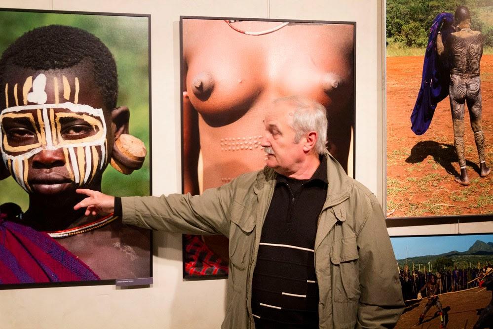 Komentovaná prohlídka výstavy Duch afriky s cestovatelem Jiřím Blatou- Dům umění