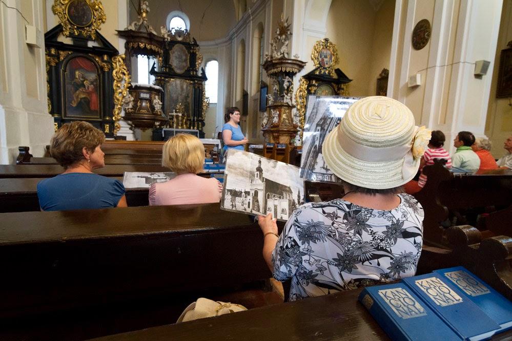 Kostel sv. Jana Křtitele- komentovaná prohlídka – Léto s městskou expozicí Cesta Města