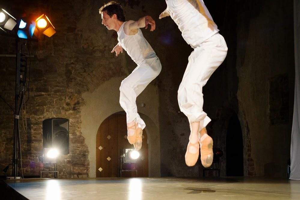 Čtvero ročních období moderní balet- kostel Svatého Václava