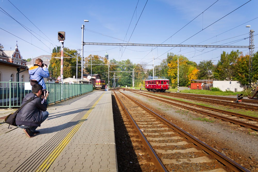 Historickým vlakem  na výstavu OPAVA ŽELEZNIČNÍ