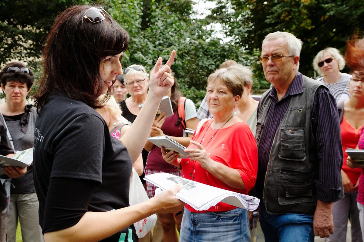Opavské parky komentovaná prohlídka- Dny evropského kulturního dědictví