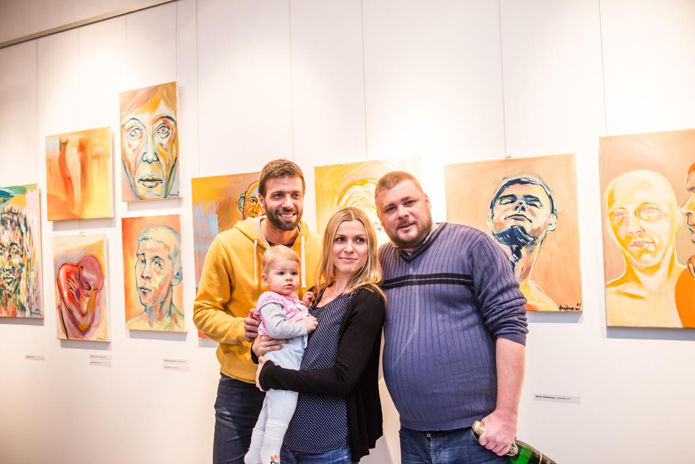 PETER HUDRAN, ŽÍT V HLAVĚ / vernisáž / 8. 2. 2017 // Galerie OD