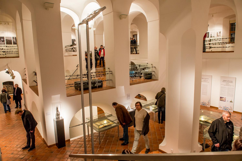 vernisáž výstav Magičtí Luxemburkové a diplomové práce ITF