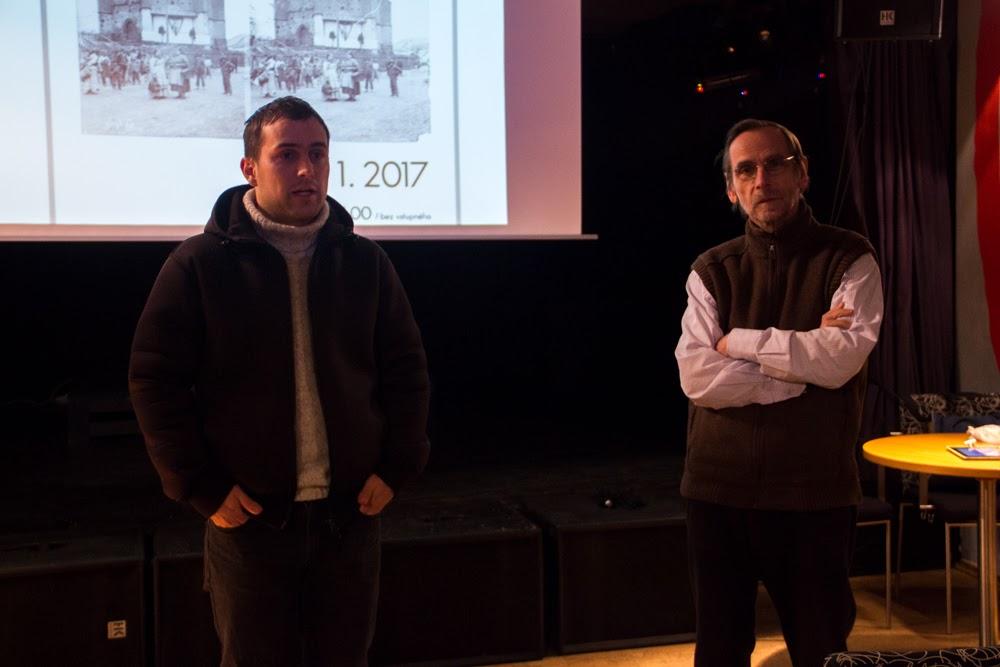 přednáška / DĚJINY STEREOFOTOGRAFIE / 10. 1. 2017 // expozice Cesta města v Klubu Art