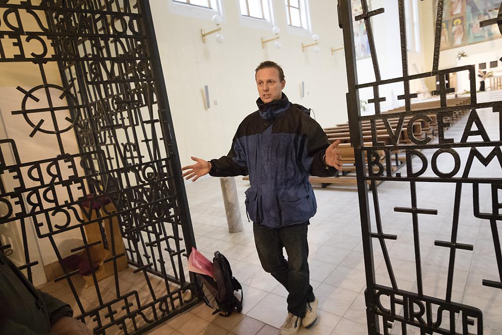komentovaná prohlídka kostela svaté Hedviky