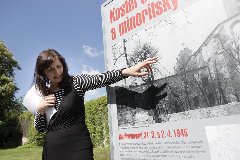 Komentovaná prohlídka venkovní výstavy Troppau 1945. Opava v roce nule