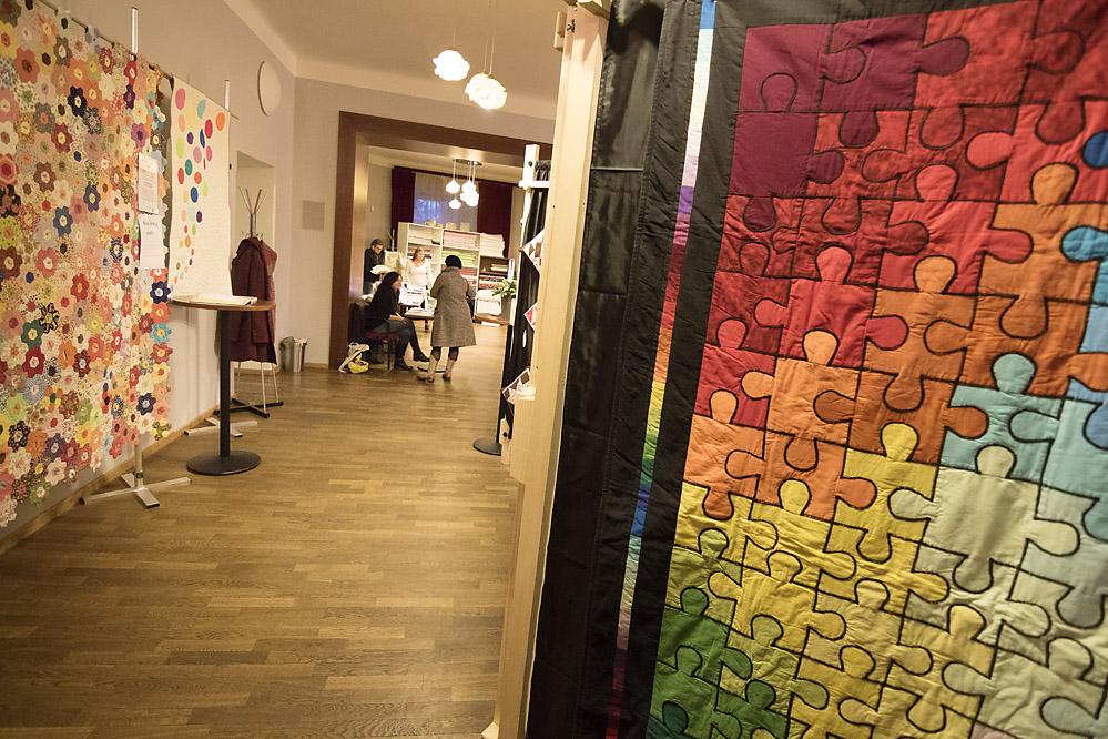 Patchwork výstava /sál purkmistrů