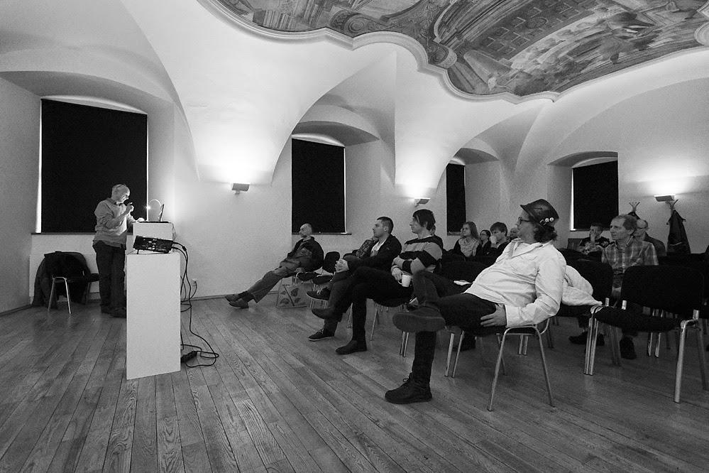 Andy Warhol a Československo přednáška Rudo Prekopa/ Refektář Domu umění