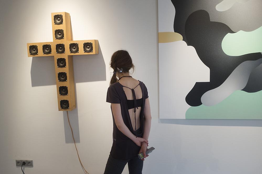 SPECTACULARE ART SHOW, Otisk hudby / vernisáž / 13. 7. 2016 // Galerie OD
