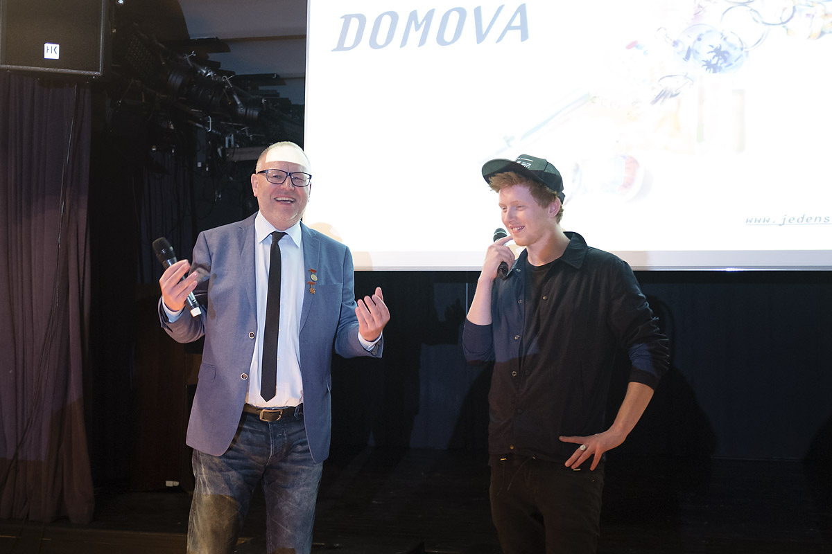 JEDEN SVĚT 2016 / den první zahájení / filmový festival / klub Art