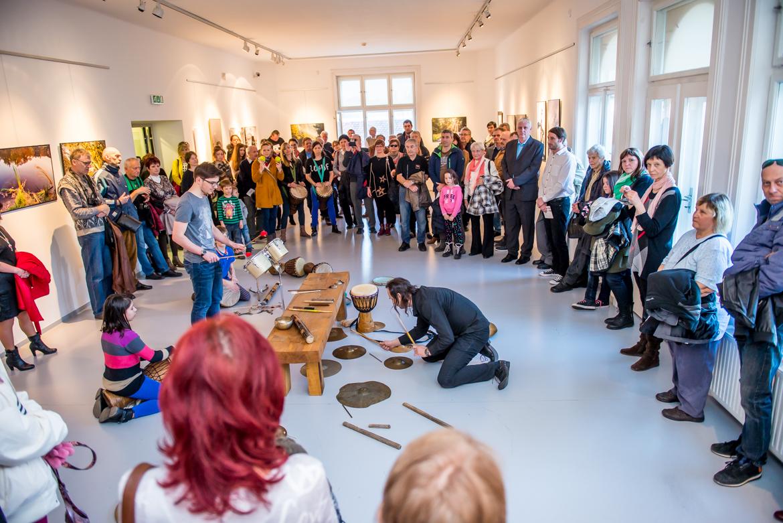 DOTYKY PŘÍRODY – PAVEL MELECKÝ / vernisáž / 8. 3. 2017 // Galerie OD