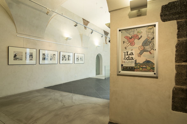 JOSEF LADA / výstava / 15. 3. – 7. 5. 2017 // Dům umění