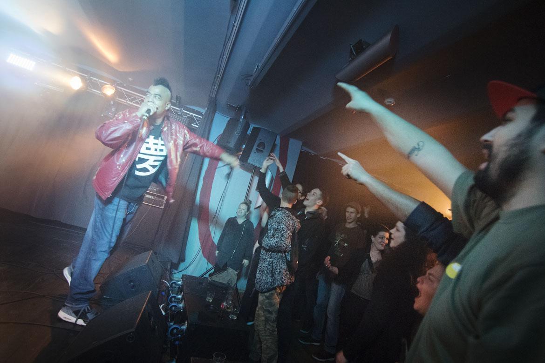 koncert AFU-RA / 4. 11. 2017 // Klub Art