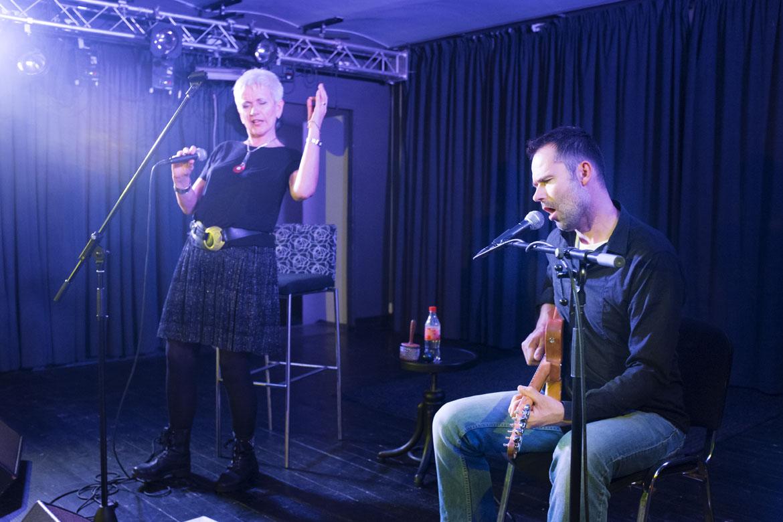 koncert IRENA BUDWEISEROVÁ A JAKUB RACEK / 27. 1. 2018 // Klub Art