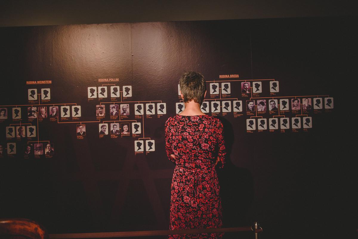 promítání filmu a vernisáž výstavy NA ÚTĚKU / 4. 4. 2018 // víceúčelový sál SLU, expozice Cesta města