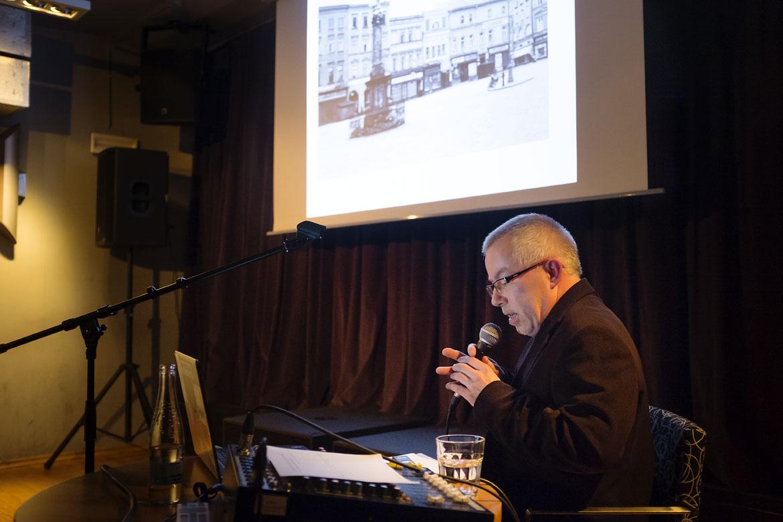 přednáška KDE SE VZALY TU SE VZALY, NÁZVY OPAVSKÝCH ULIC… 3 / 27. 3. 2018 // Klub Art