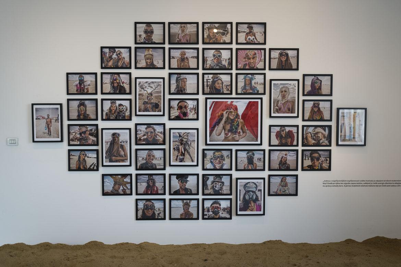 výstava THE BURNING MAN COLLECTION BY MAREK MUSIL / 3. 5. – 24. 6. 2018 // Galerie Obecního domu
