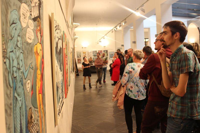 komentovaná prohlídka výstavy KÁJA SAUDEK 18+ OPAVA / 17. 5. 2018 / Dům umění