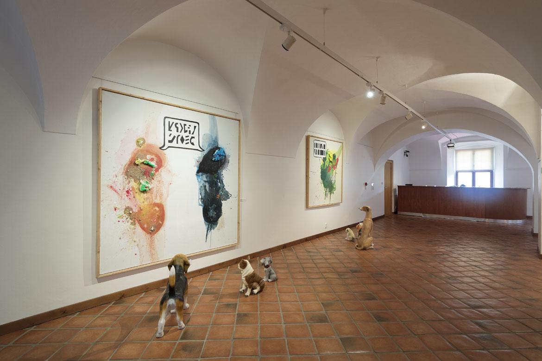 výstava MILAN KNÍŽÁK – ŽÍT JINAK / 15. 6. – 26. 8. 2018 // Dům umění