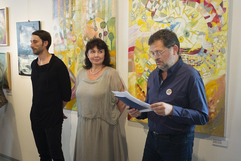 vernisáž X INSPIRACÍ – OPAVSKÁ SKUPINA X / 4. 9. 2018 // Galerie Obecního domu