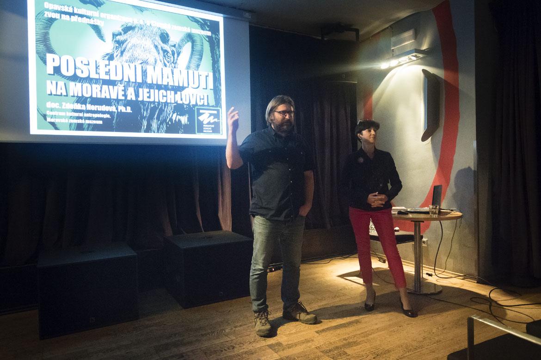 přednášky POSLEDNÍ MAMUTI NA MORAVĚ A JEJICH LOVCI, NEANDRTÁLEC A MAMUT / 25. 10. 2018 // Klub Art