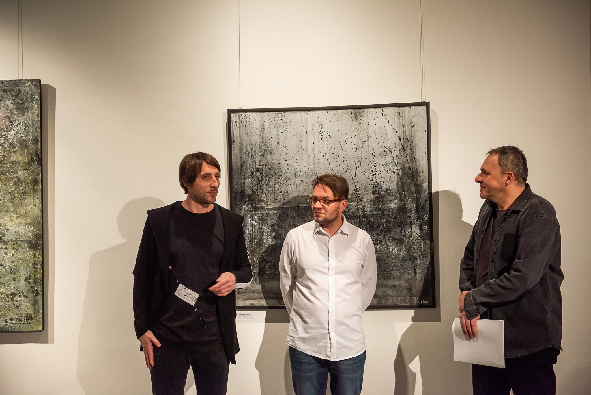 vernisáž ANDRZEJ CIEŚLAR – MEZI PRO STORY / 11. 12. 2018 // Galerie Obecního domu