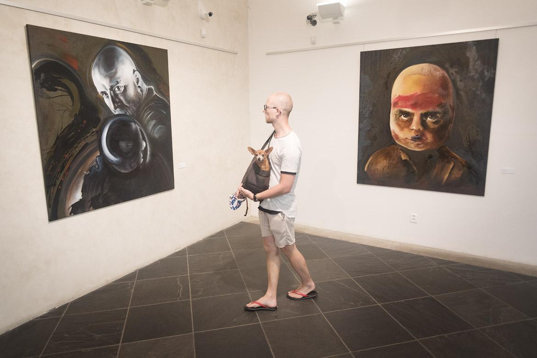 vernisáž výstav PAVEL FORMAN, VENDULA CHALÁNKOVÁ, STEFAN MILKOV, DIALOGY 2019 / 25. 6. 2019 // Dům umění