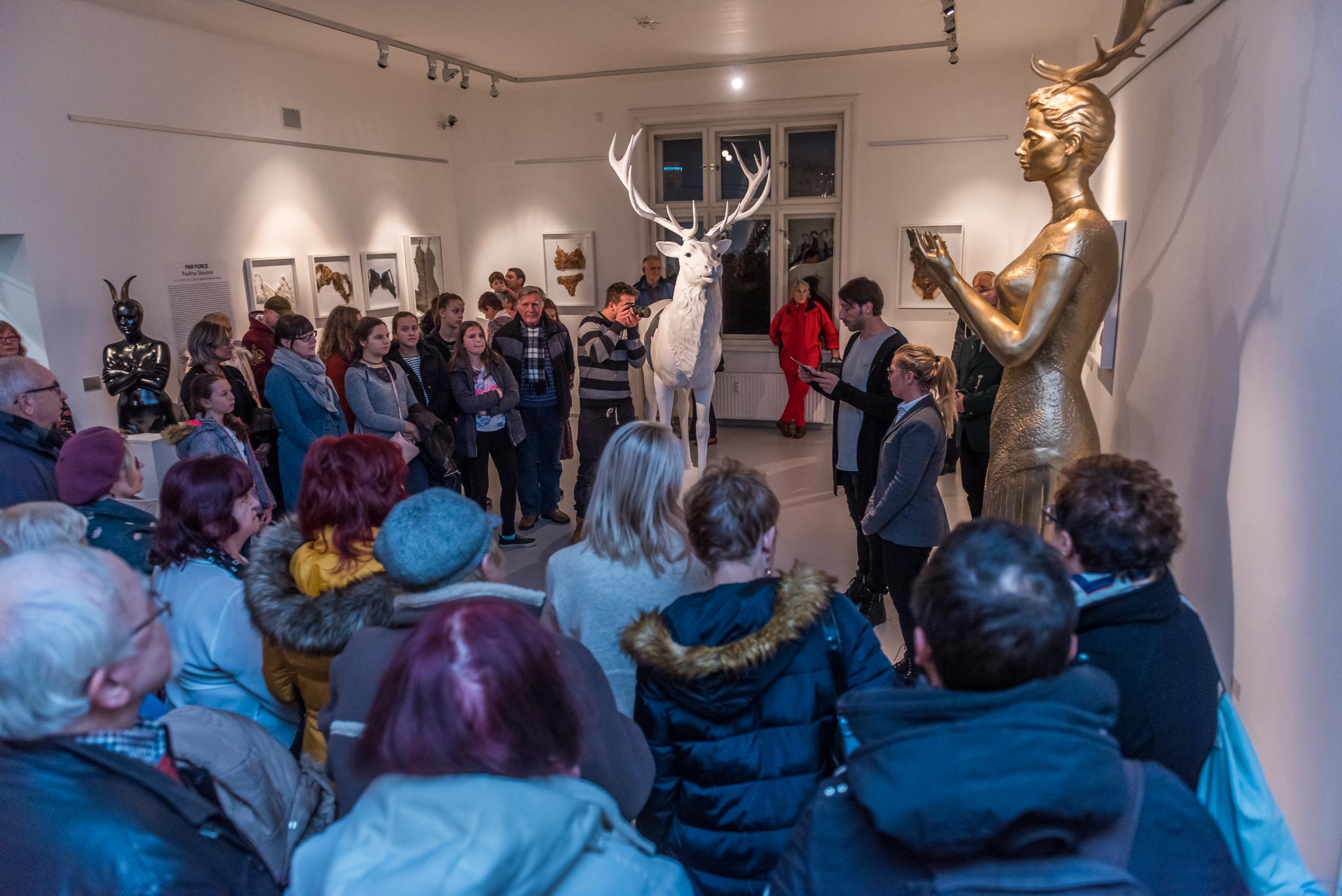 vernisáž PAULINA SKAVOVA – PAR FORCE / 4. 12. 2019 // Galerie Obecního domu