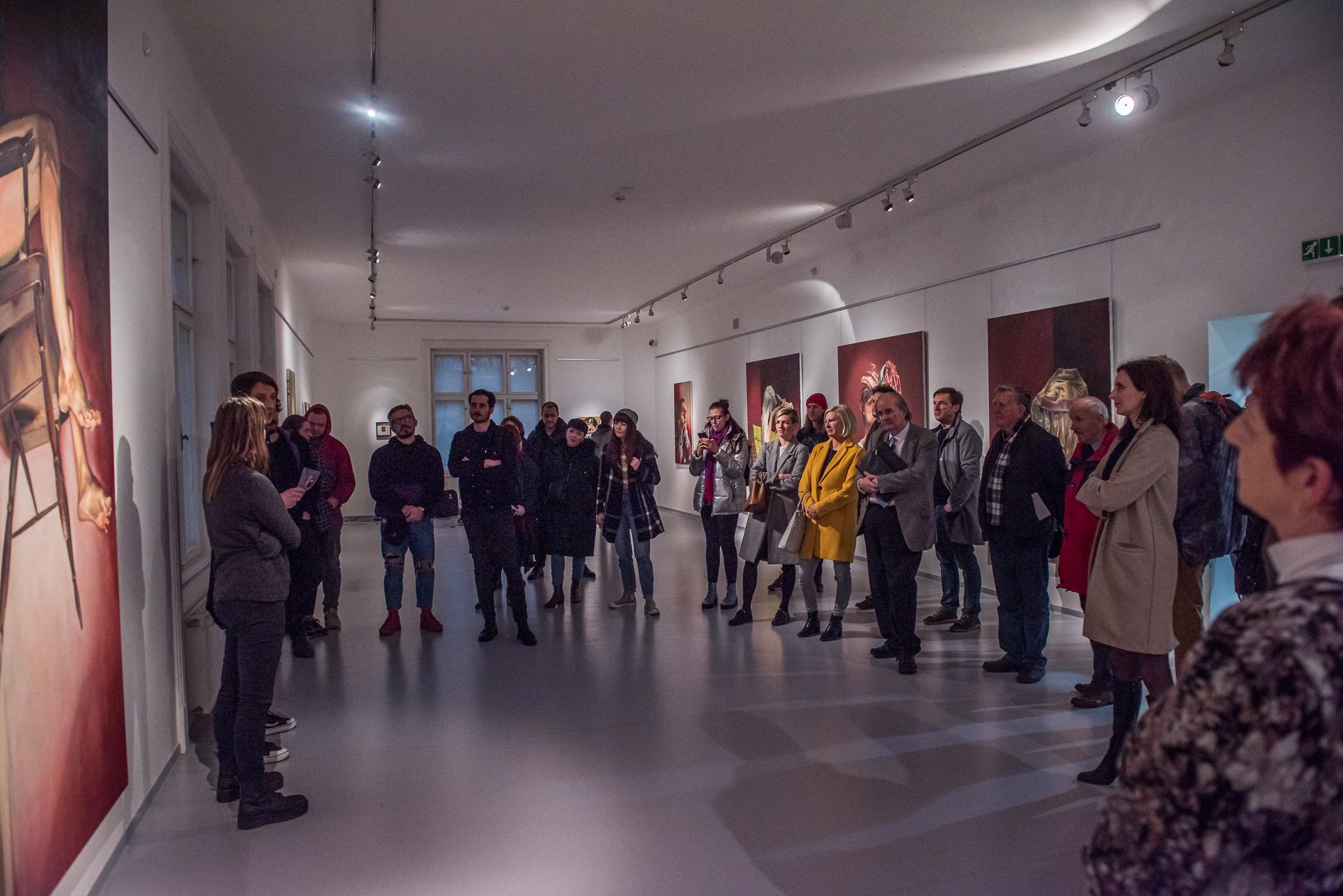 vernisáž BARBORA MIKUDOVÁ – MALÁ DOMÁCÍ NEBEZPEČÍ / 3. 3. 2020 // Galerie Obecního domu
