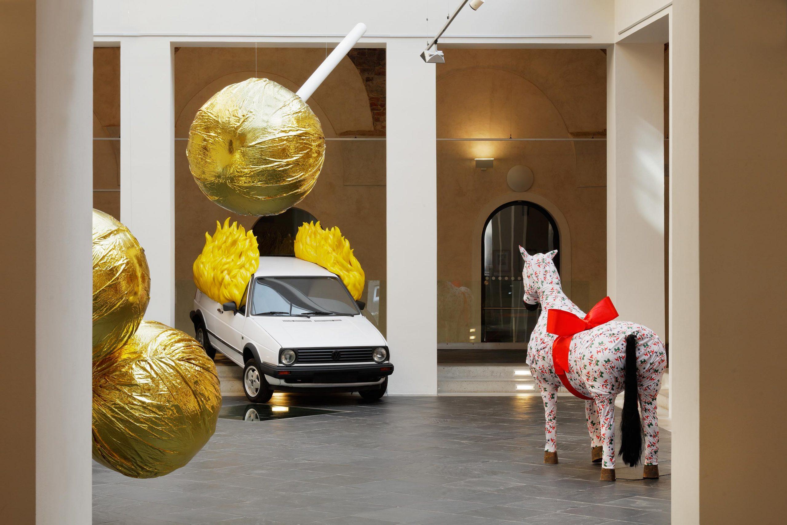 výstava PASTA ONER – NAUGHRY BY NATURE / 17. 3. – 2. 8. 2020 // Dům umění