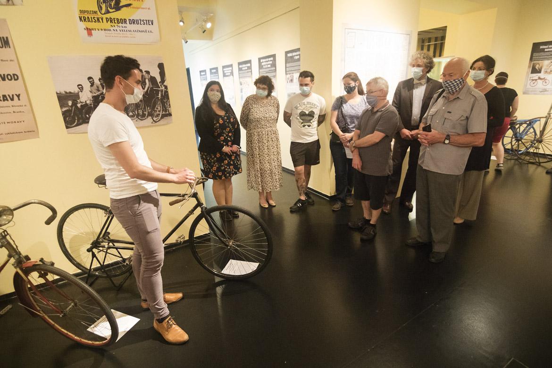 zahájení výstavy FENOMÉN CYKLISTIKA / 14. 6. – 4. 10. 2020 // expozice Cesta města